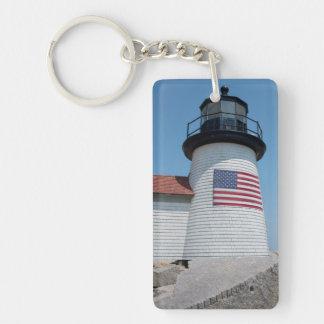 USA, Massachusetts, Nantucket. Brant Point Key Ring