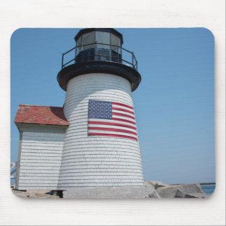 USA, Massachusetts, Nantucket. Brant Point Mouse Mat