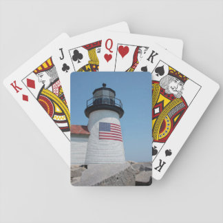 USA, Massachusetts, Nantucket. Brant Point Playing Cards