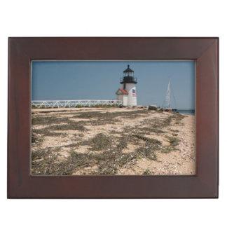 USA, Massachusetts, Nantucket. Shell Keepsake Box
