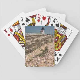 USA, Massachusetts, Nantucket. Shell Playing Cards