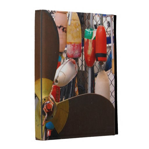 USA, Massachusetts. Propeller And Floats iPad Folio Covers