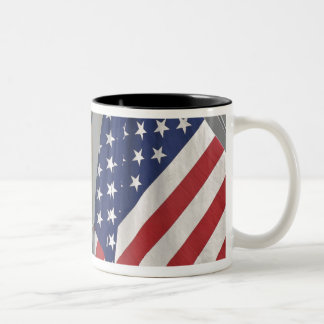 USA; Massachusetts; Stockbridge; Daily Bread Two-Tone Coffee Mug