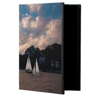USA, Massachusetts. Sunset Sailing iPad Air Case