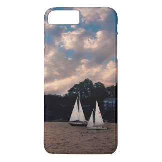 USA, Massachusetts. Sunset Sailing iPhone 8 Plus/7 Plus Case