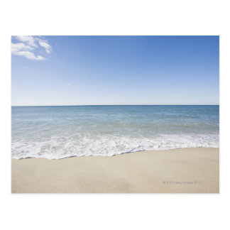 USA, Massachusetts, Waves at sandy beach 2 Postcard
