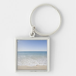 USA, Massachusetts, Waves at sandy beach Key Ring