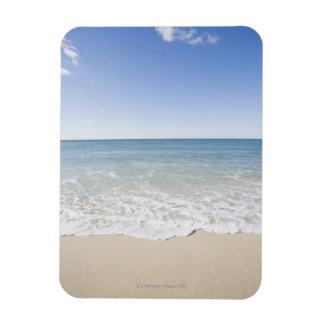 USA, Massachusetts, Waves at sandy beach Magnet