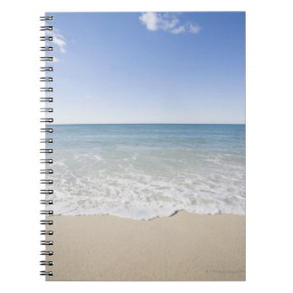 USA, Massachusetts, Waves at sandy beach Notebook