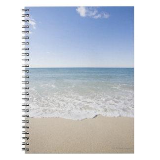 USA, Massachusetts, Waves at sandy beach Notebooks