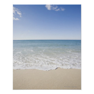 USA, Massachusetts, Waves at sandy beach Poster