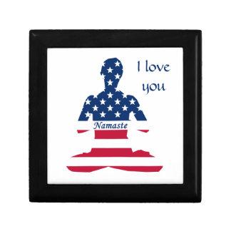 USA meditation American yoga Gift Box
