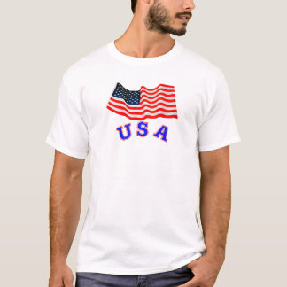 USA Men's Basic T-Shirt