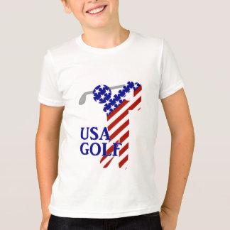 USA Mens Golf - Male Golfer T-Shirt