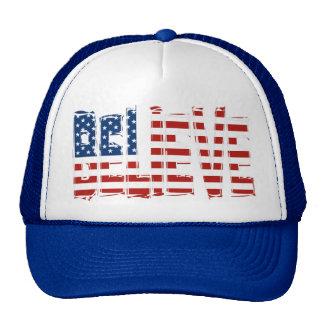 USA Men's Soccer BELIEVE Hat Trucker Hats