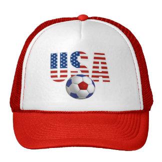 USA Men's Soccer Hat Hats