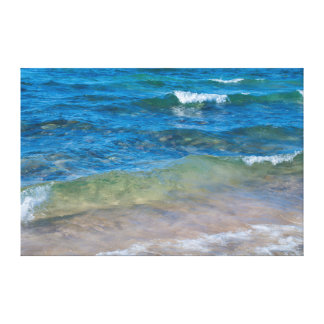 USA, Michigan. Clear Waters Of Lake Superior Canvas Print