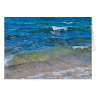 USA, Michigan. Clear Waters Of Lake Superior Card