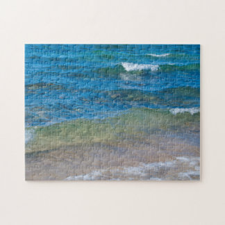 USA, Michigan. Clear Waters Of Lake Superior Jigsaw Puzzle