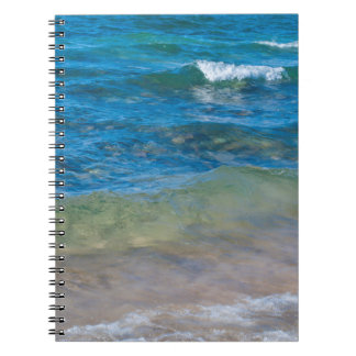 USA, Michigan. Clear Waters Of Lake Superior Notebook
