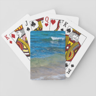 USA, Michigan. Clear Waters Of Lake Superior Playing Cards