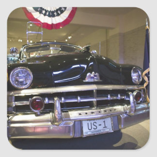 USA, Michigan, Dearborn: The Henry Ford Museum, 2 Square Sticker