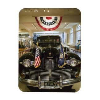 USA, Michigan, Dearborn: The Henry Ford Museum, Rectangular Photo Magnet