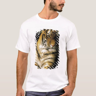 USA, Michigan, Detroit. Detroit Zoo, tiger 3 T-Shirt