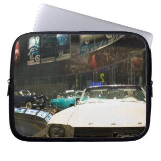 USA, Michigan, Detroit: Ford Rouge Factory Tour, Laptop Sleeve