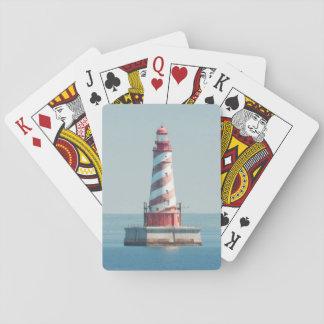 USA, Michigan, Great Lakes, Lake Michigan Deck Of Cards