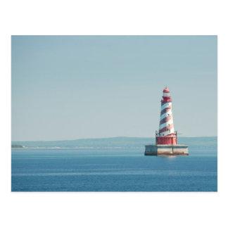 USA, Michigan, Great Lakes, Lake Michigan Postcard