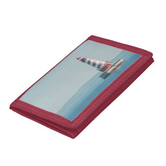 USA, Michigan, Great Lakes, Lake Michigan Trifold Wallets