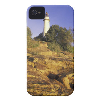 USA, Michigan, Lake Huron. Pointe Aux Barques iPhone 4 Cases