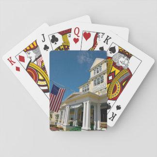 USA, Michigan, Mackinac Island Playing Cards
