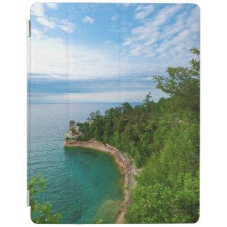 USA, Michigan. Miner's Castle Rock Formation 3 iPad Cover