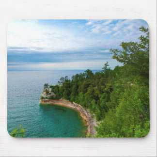USA, Michigan. Miner's Castle Rock Formation 3 Mouse Pad