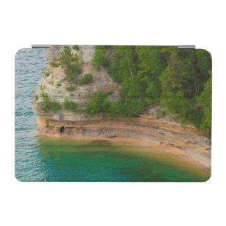 USA, Michigan. Miner's Castle Rock Formation iPad Mini Cover