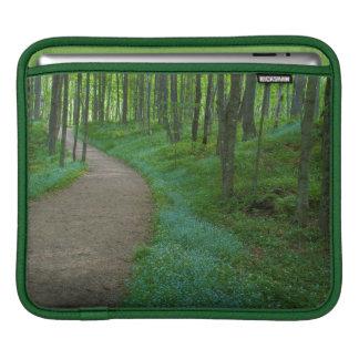 USA, Michigan. Miner's Falls Trail iPad Sleeve