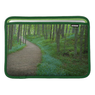 USA, Michigan. Miner's Falls Trail Sleeve For MacBook Air