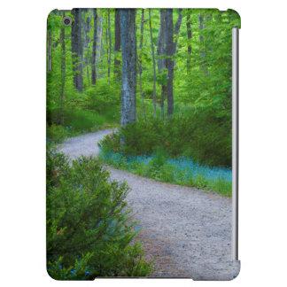USA, Michigan. Path Thru The Woods