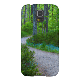 USA, Michigan. Path Thru The Woods Galaxy S5 Case