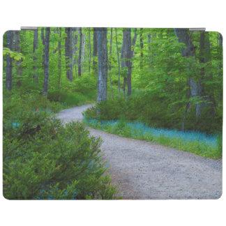 USA, Michigan. Path Thru The Woods iPad Cover