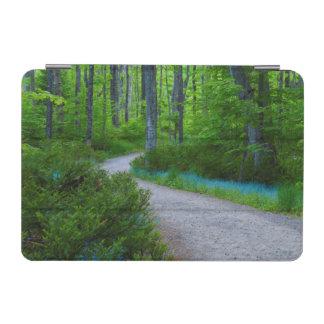 USA, Michigan. Path Thru The Woods iPad Mini Cover