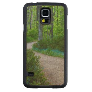 USA, Michigan. Path Thru The Woods Maple Galaxy S5 Slim Case