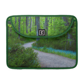 USA, Michigan. Path Thru The Woods Sleeve For MacBook Pro