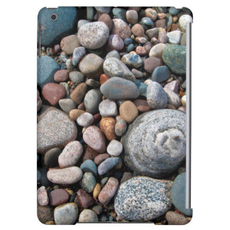 USA, Michigan. Polished Pebbles On The Shore