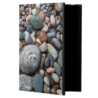 USA, Michigan. Polished Pebbles On The Shore Cover For iPad Air