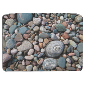 USA, Michigan. Polished Pebbles On The Shore iPad Air Cover
