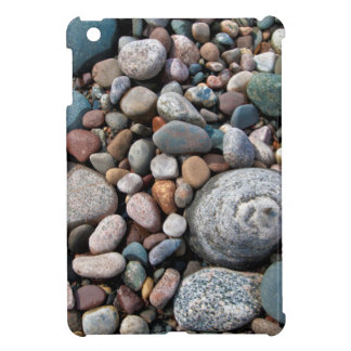 USA, Michigan. Polished Pebbles On The Shore iPad Mini Case