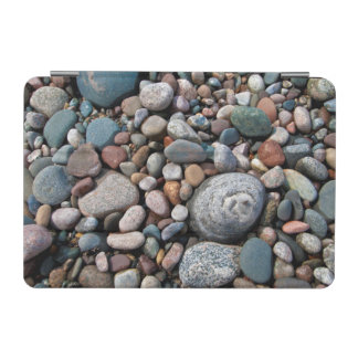 USA, Michigan. Polished Pebbles On The Shore iPad Mini Cover